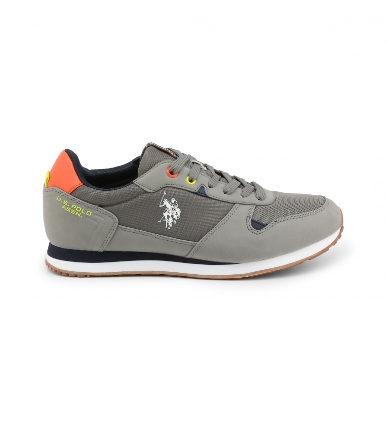 Comprar U.S. Polo Assn. Sneaker lace-up WILYS4096S1 grey