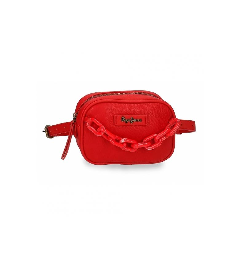 Comprar Pepe Jeans Riñonera Chain -18x12x5cm- rojo
