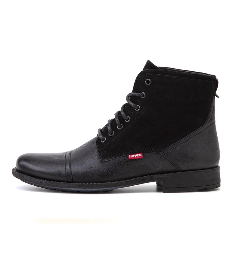 Comprar Levi's Fowler 2.0 botas de couro para tornozelo preto