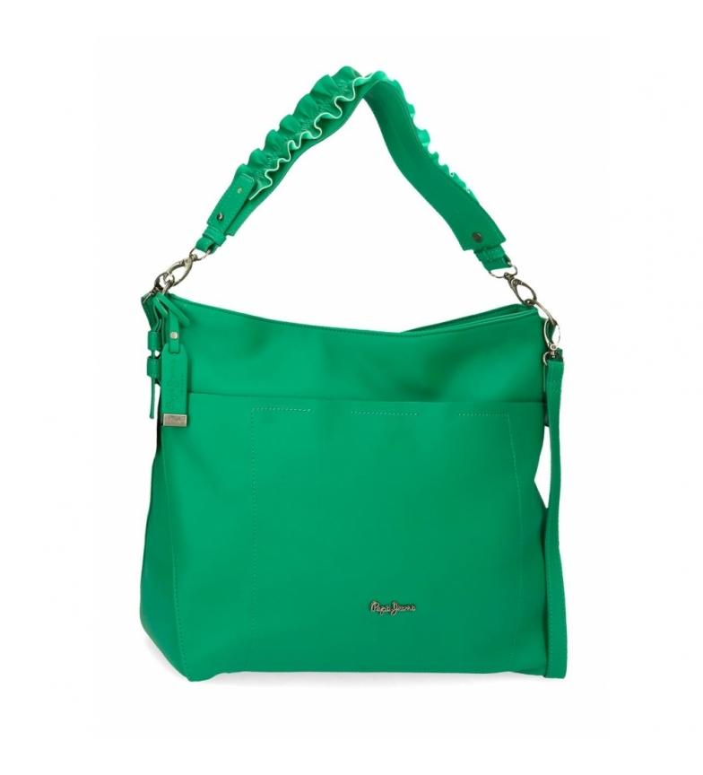 Comprar Pepe Jeans Shoulder bag Aina -34x30x11cm- green
