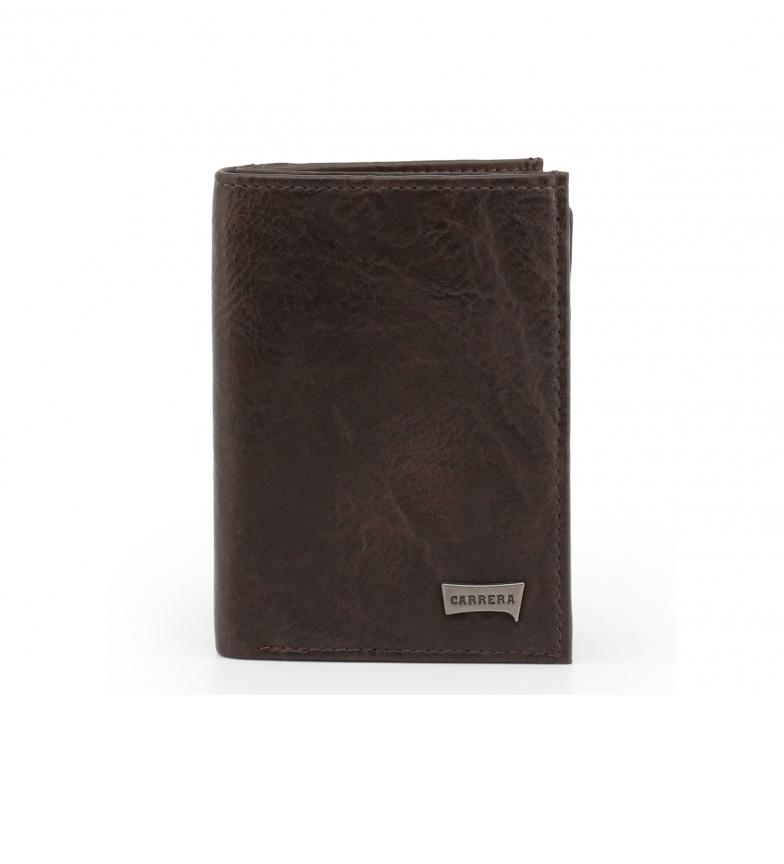 Comprar Carrera Jeans Tuscany_CB4415 portafoglio marrone -8,5x11,5x1,5cm-