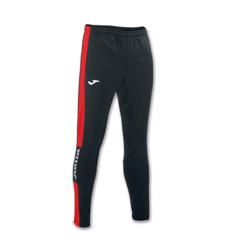 Comprar Joma  LONG CHAMPION IV BLACK-RED PANTS