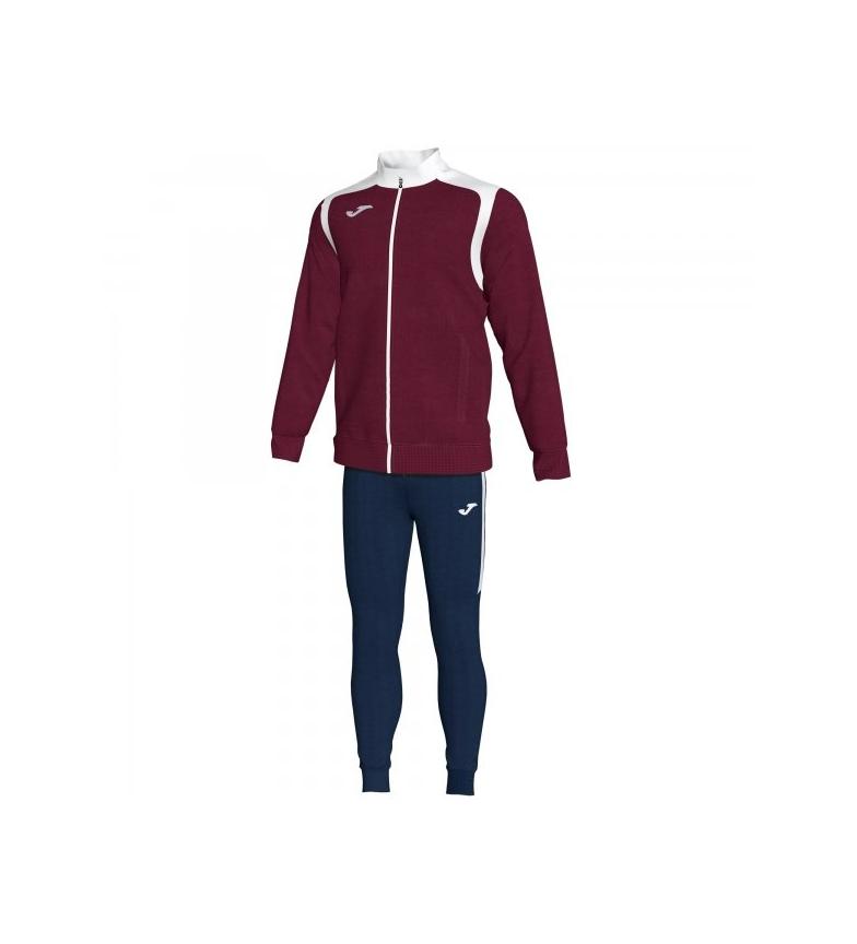 Comprar Joma  Track suit Championship V burgundy-white