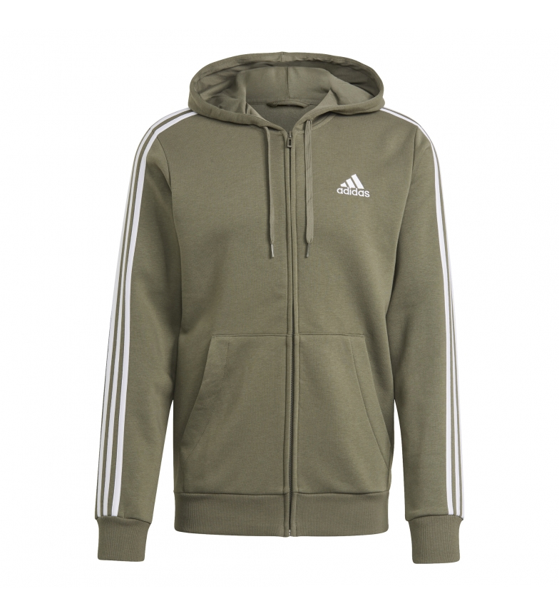 Comprar adidas Sweatshirt M 3S FL FZ HD khaki