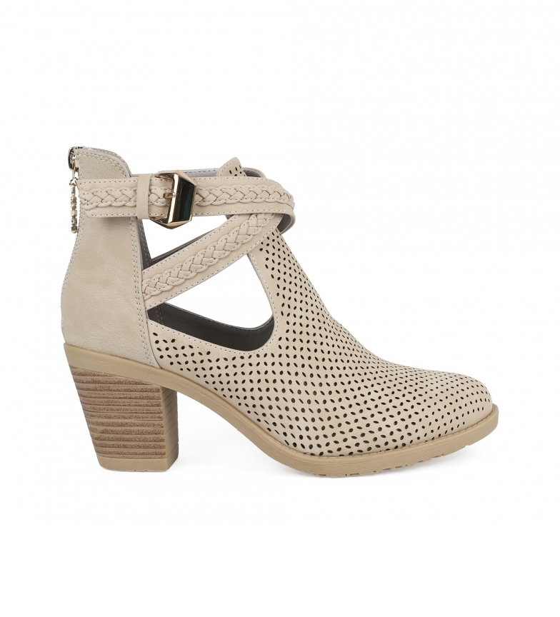Comprar Chika10 Tonia 04 stone ankle boots -Heel height: 7cm