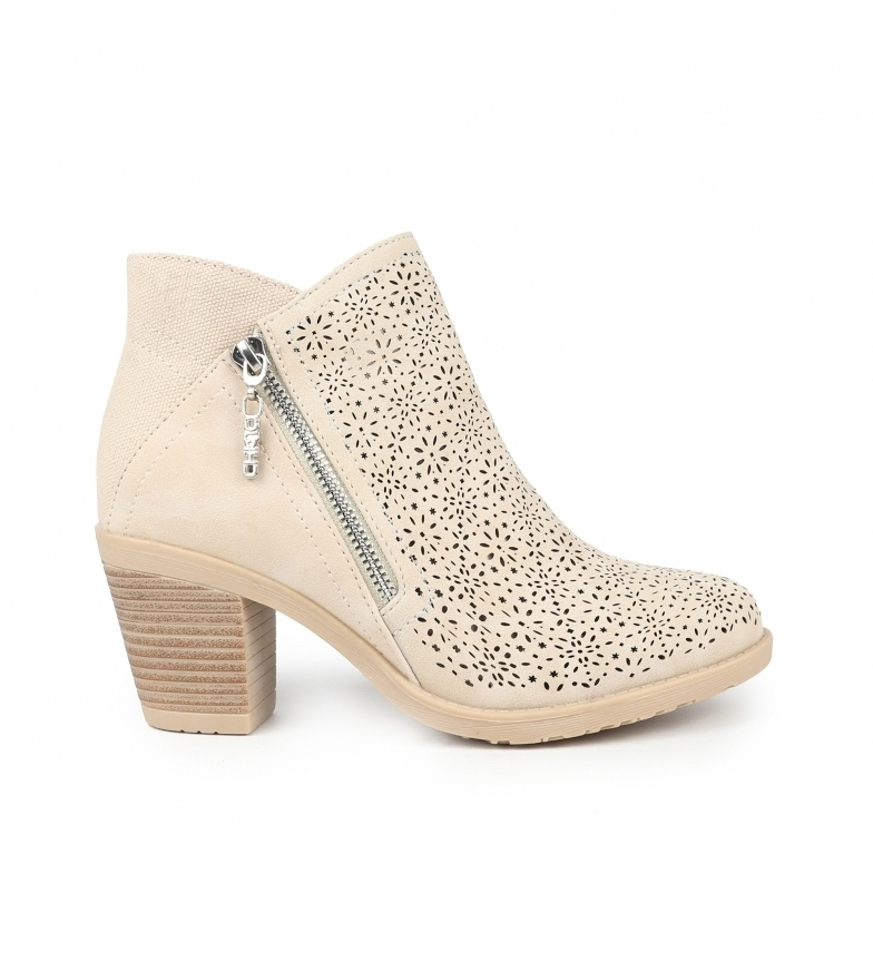 Comprar Chika10 Tonia 08 stone ankle boots Heel height: 7 cm