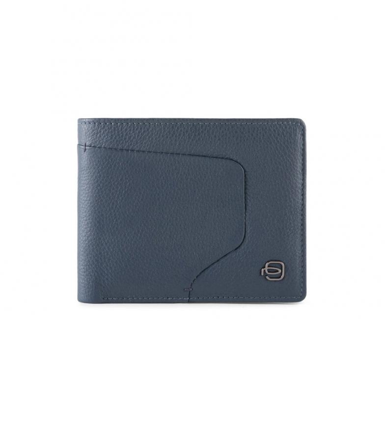 Comprar Piquadro Portefeuille en cuir PU4823AOR marine -11,5x9,5x1cm