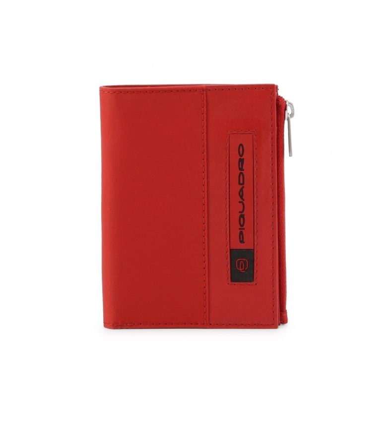 Comprar Piquadro Portefeuille en cuir PU4462BIO rouge -11,5x9x1cm- -11,5x9x1cm- -11,5x9x1cm- Portefeuille en cuir PU4462BIO rouge