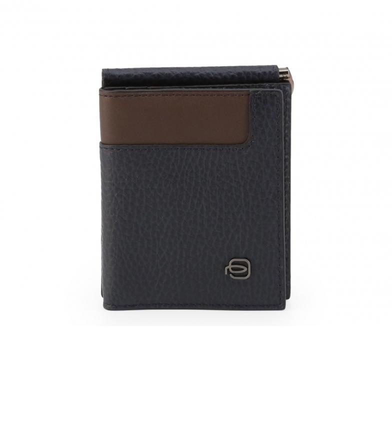 Comprar Piquadro Portefeuille en cuir PU4196W83R noir -11x9x1cm