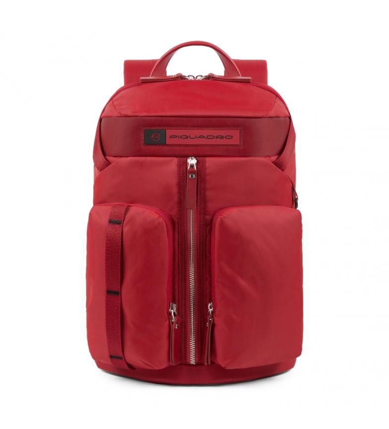 Comprar Piquadro Zaino in pelle CA5038BIO rosso -27x41x12cm-