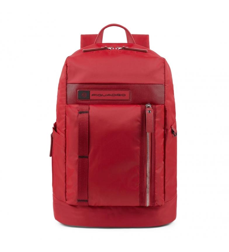 Comprar Piquadro Zaino in pelle CA4545BIO rosso -31x43x16cm-