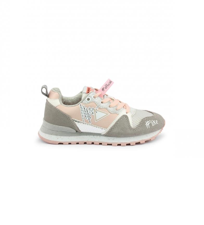 Comprar Shone Sneakers 617K-018 grey -Wedge+platform height: 4cm