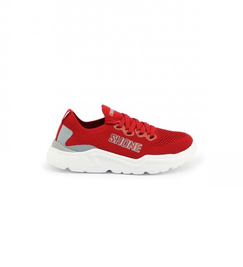 Shone Sapatos 155-001 vermelho