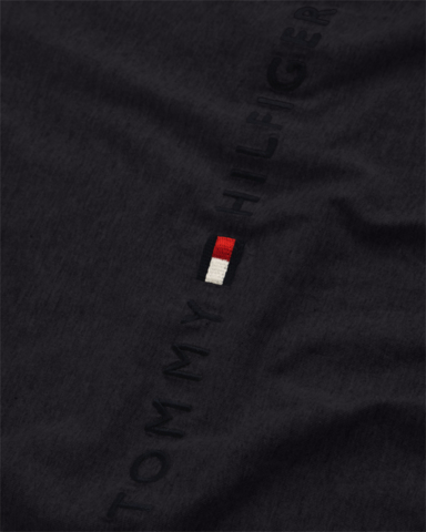 Comprar Tommy Hilfiger Camiseta Core Tommy Logo Tee 1985 negro