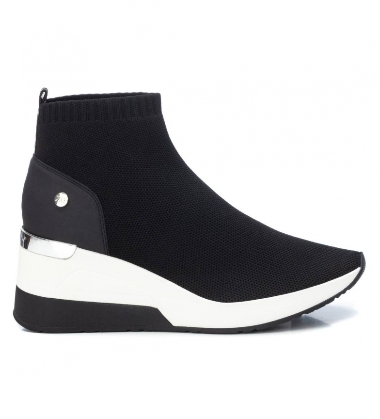 Comprar Xti Ankle boots 042571 black -6cm wedge height