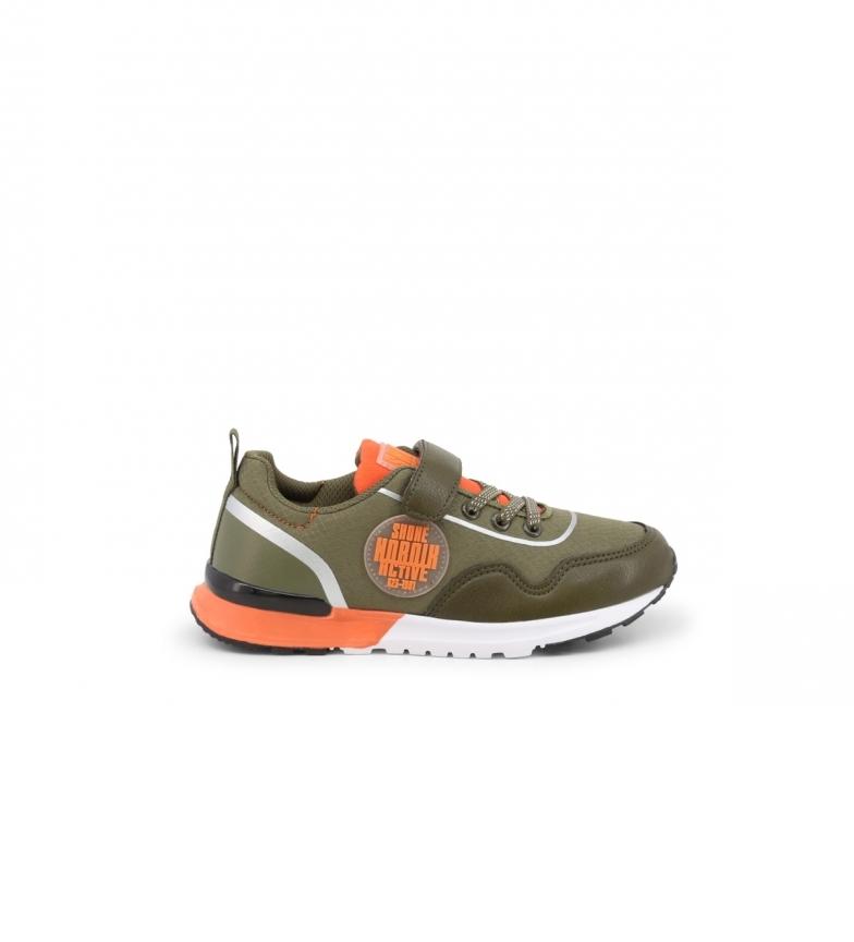 Comprar Shone Sneakers E9015-007 verde, laranja