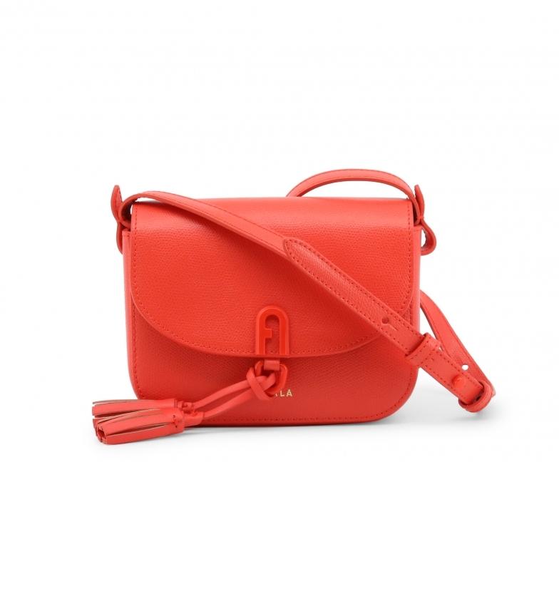 Comprar Furla Leather shoulder bag 1927_FRANGIA red -18x14x7cm- -18x14x7cm- Leather bag 1927_FRANGIA red -18x14x7cm- Leather shoulder bag 1927_FRANGIA red