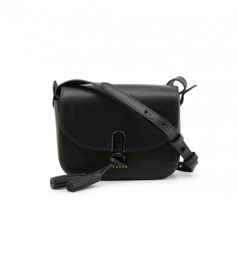 Comprar Furla Leather shoulder bag 1927_FRANGIA black -18x14x7cm- -18x14x7cm- Leather bag 1927_FRANGIA black -18x14x7cm- Leather shoulder bag 1927_FRANGIA black