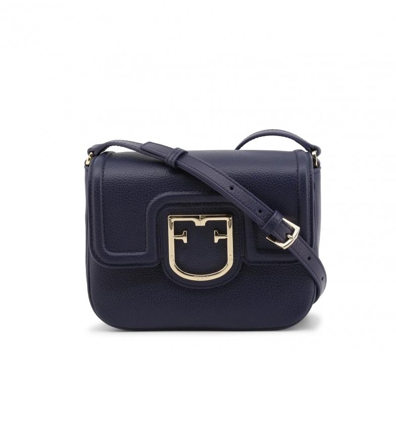 Furla JOY_XS leather shoulder bag navy - 20x15x8cm - Blue - 20x15x8cm