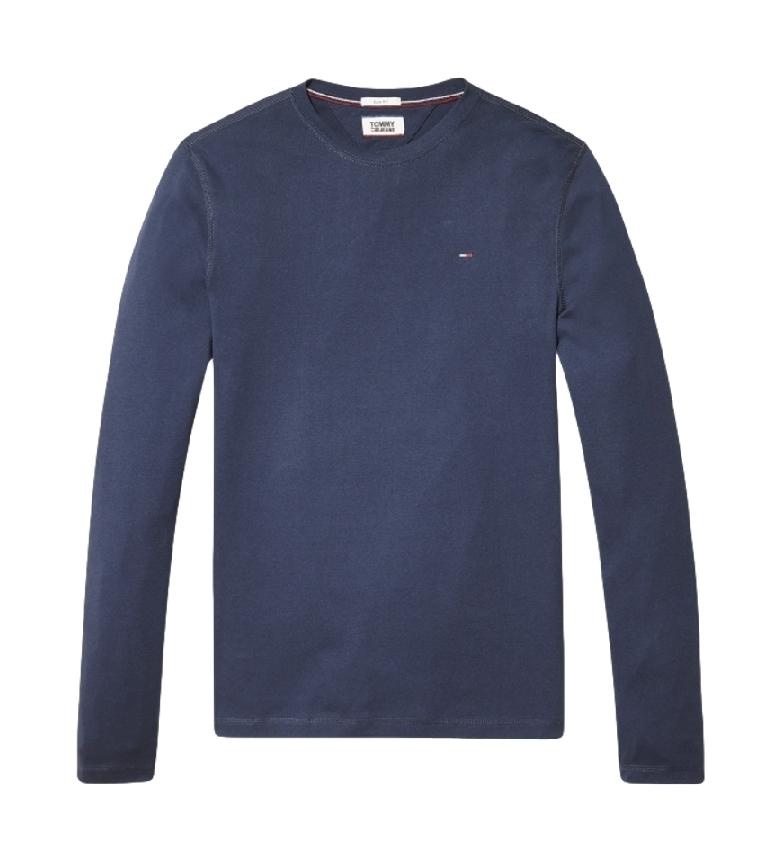 Tommy Hilfiger TJM Original RIB Longsleeve Tee - T-shirt marine