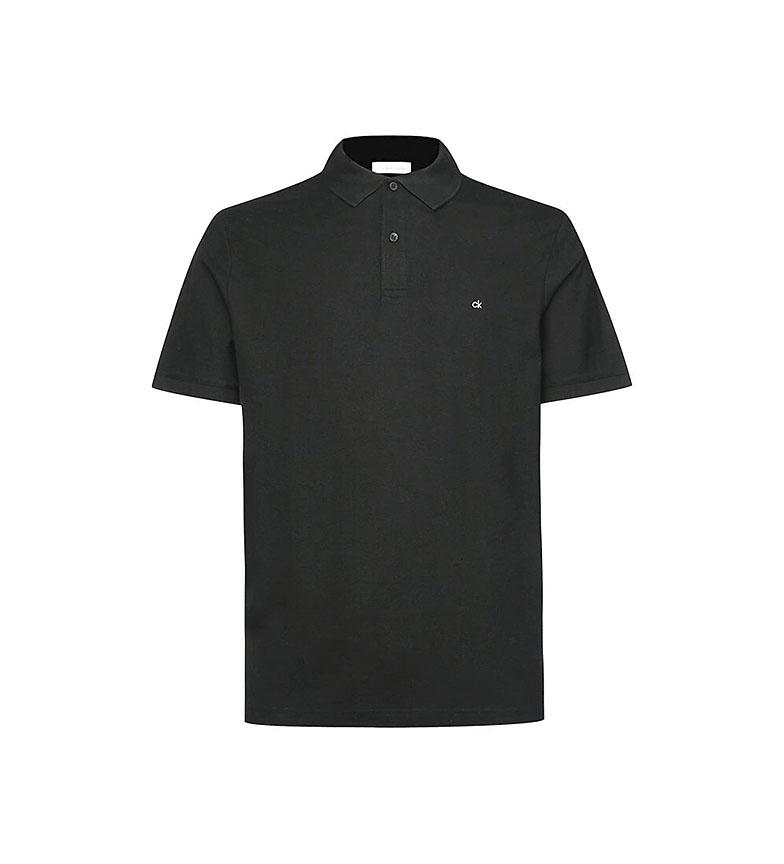 Comprar Calvin Klein Polo slim in piqué di cotone nera