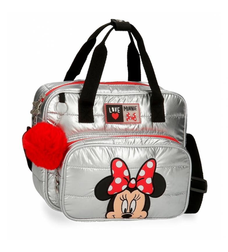 Comprar Joumma Bags My Pretty Bow Toilet Bag with shoulder strap grey -26x21x12cm