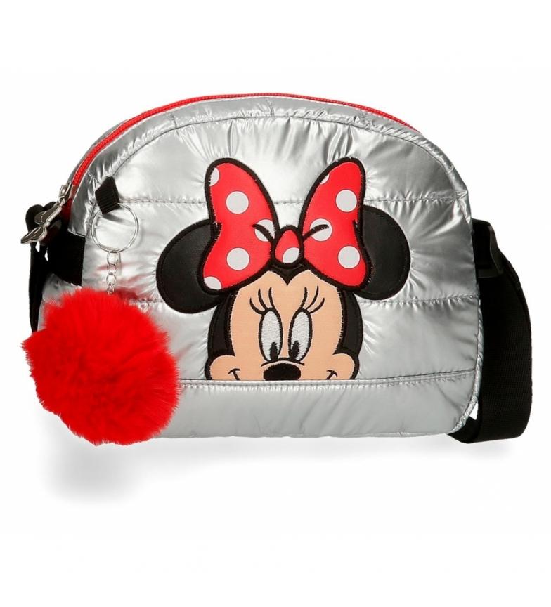 Comprar Joumma Bags Borsa a tracolla Minnie My Pretty Bow grigia -21x16,5x6cm-