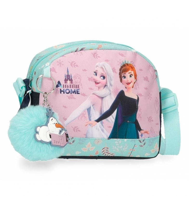 Comprar Joumma Bags Arandelle is Home borsa a tracolla blu -20,5x16,5x6cm-