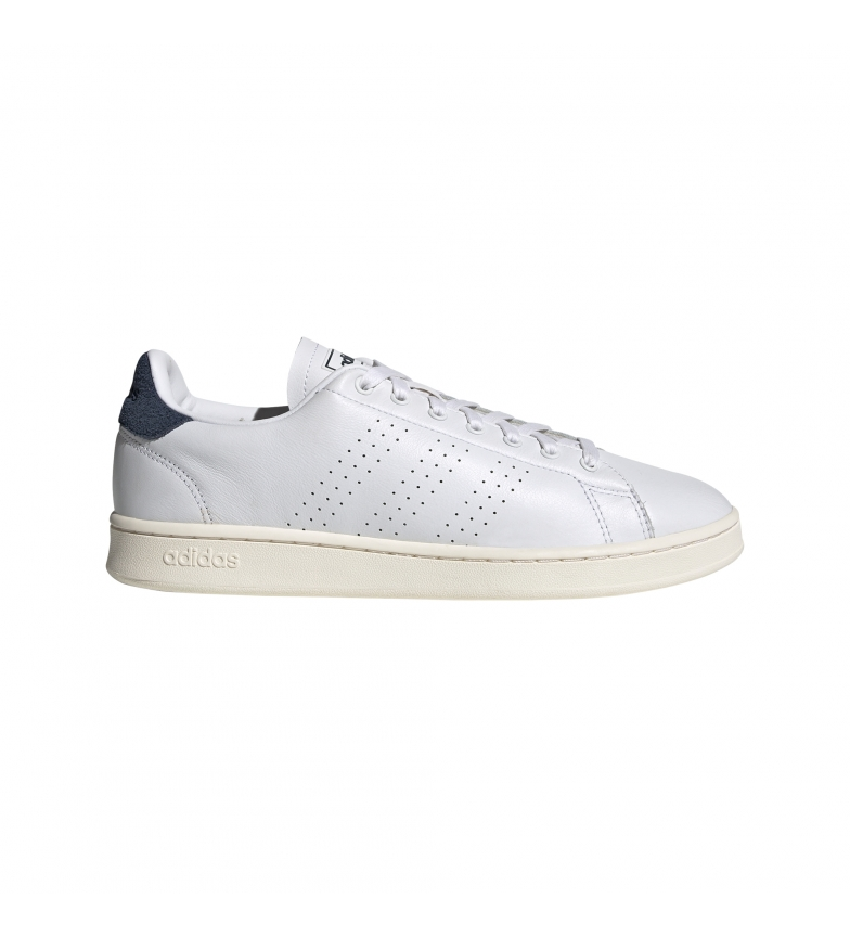 adidas Sneakers Advantage blanc, marine