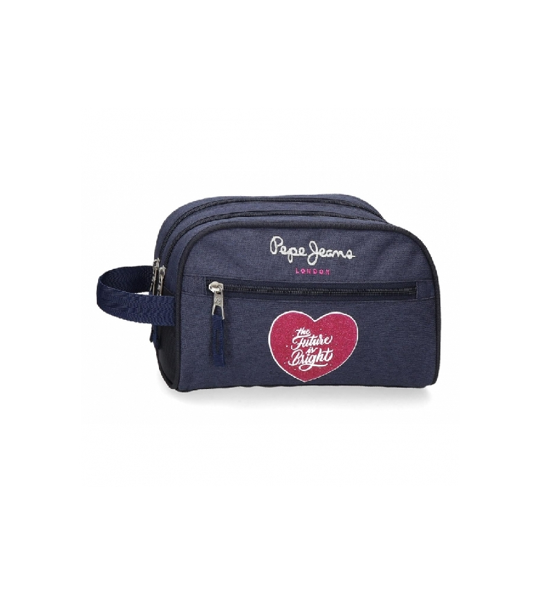 Comprar Pepe Jeans Toilet Bag Two Compartments Bright blue -26x16x12cm