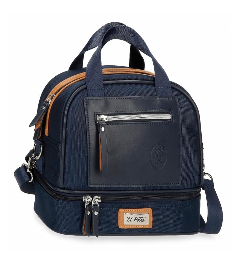 Comprar El Potro Thermal Food Carrier Shoulder Bag 5144623 navy -24x22x15cm
