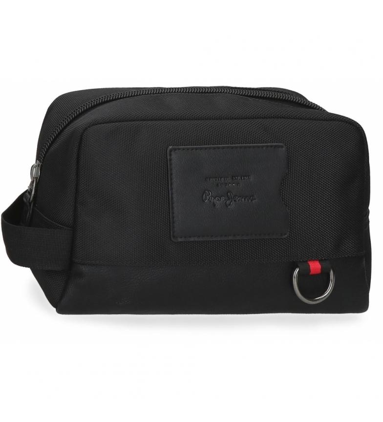 Comprar Pepe Jeans Counter Adaptable Toilet Bag black -25x15x12cm