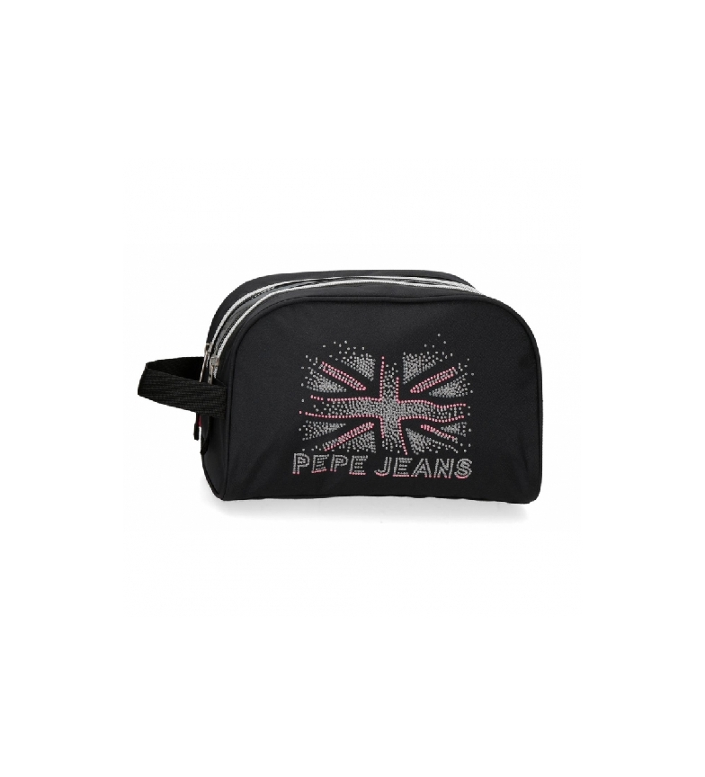 Comprar Pepe Jeans Toilet Bag Two Compartments Adaptable black -26x16x12cm
