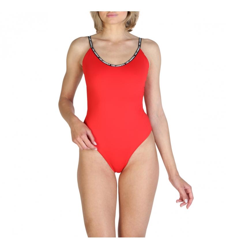 Comprar Karl Lagerfeld Costume da bagno KL21WOP01 rosso