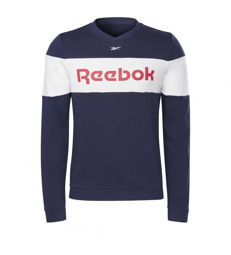 Reebok Jersey Deportivo Training Essentials Linear  marino