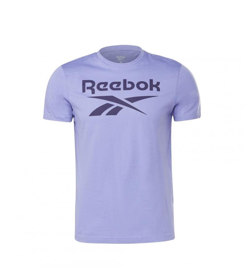 Comprar Reebok T-shirt Reebok Stacked Purple Graphic Series