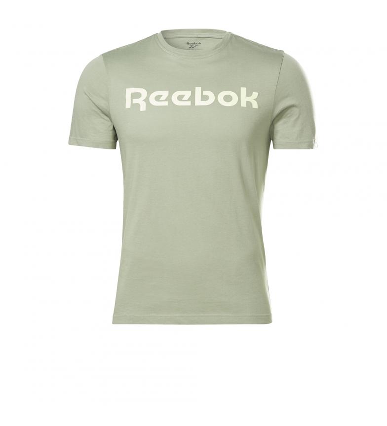Comprar Reebok T-shirt con logo lineare della serie grafica verde