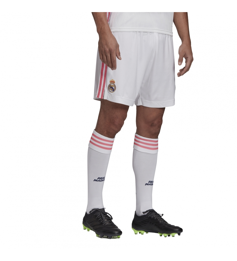 adidas Shorts Primera Equipación Real Madrid 20/21 blanco