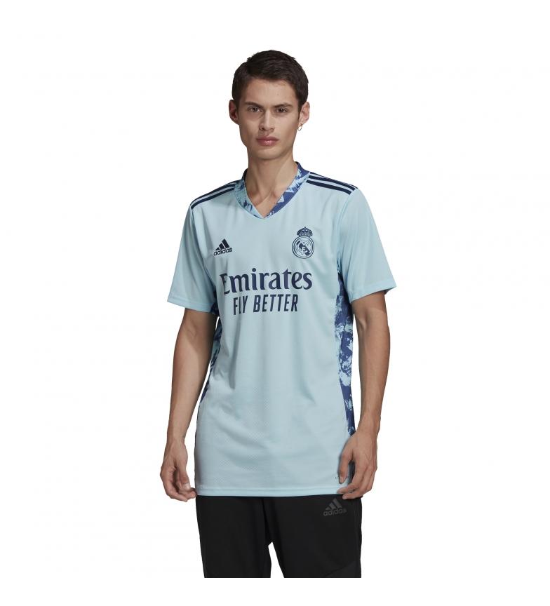 Comprar adidas Camiseta Portero Primera Equipación Real Madrid 20/21 azul