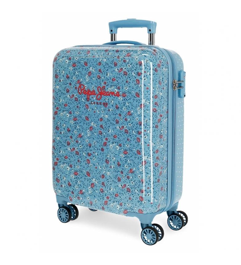 Comprar Pepe Jeans Maleta de Cabina Pepe Jeans Ava rígida azul -38x55x20cm-