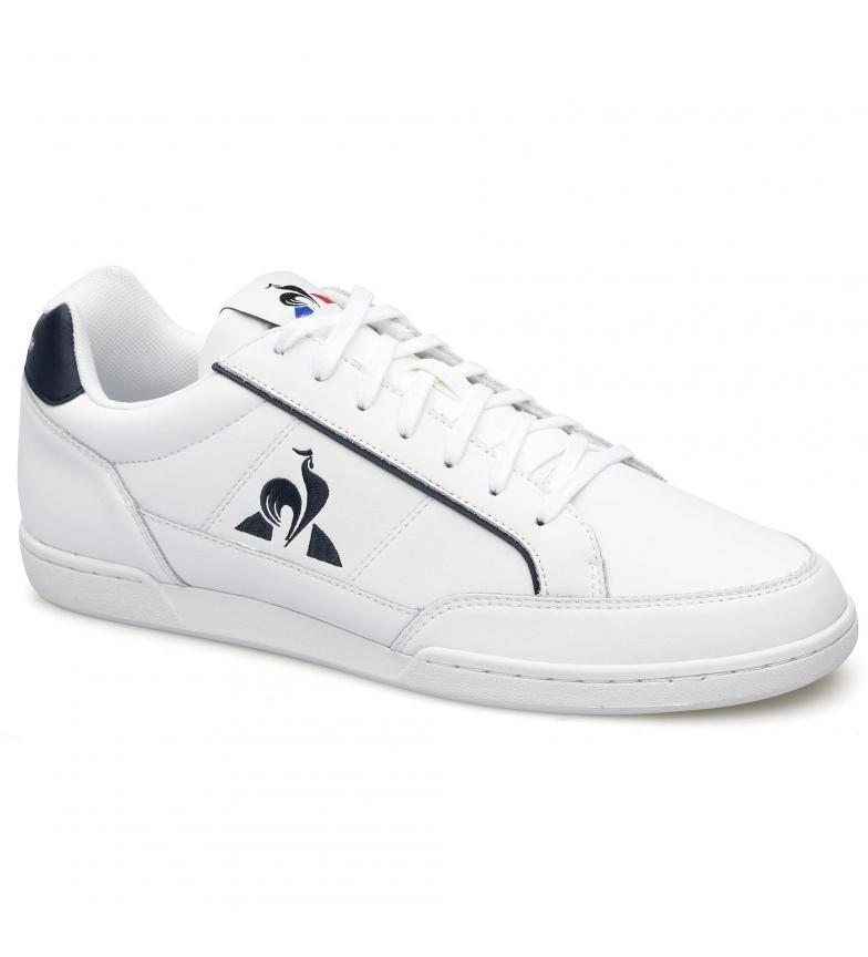 Le Coq Sportif TOURNAMENT leather sneakers white, blue