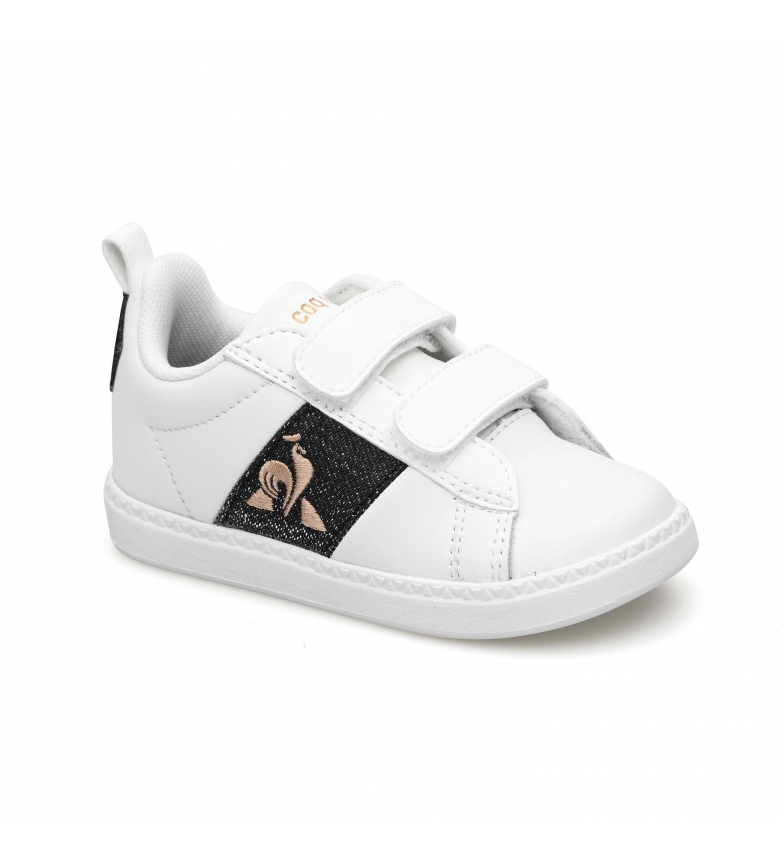 Comprar Le Coq Sportif Zapatillas de piel COURTCLASSIC INF GIRL blanco, negro