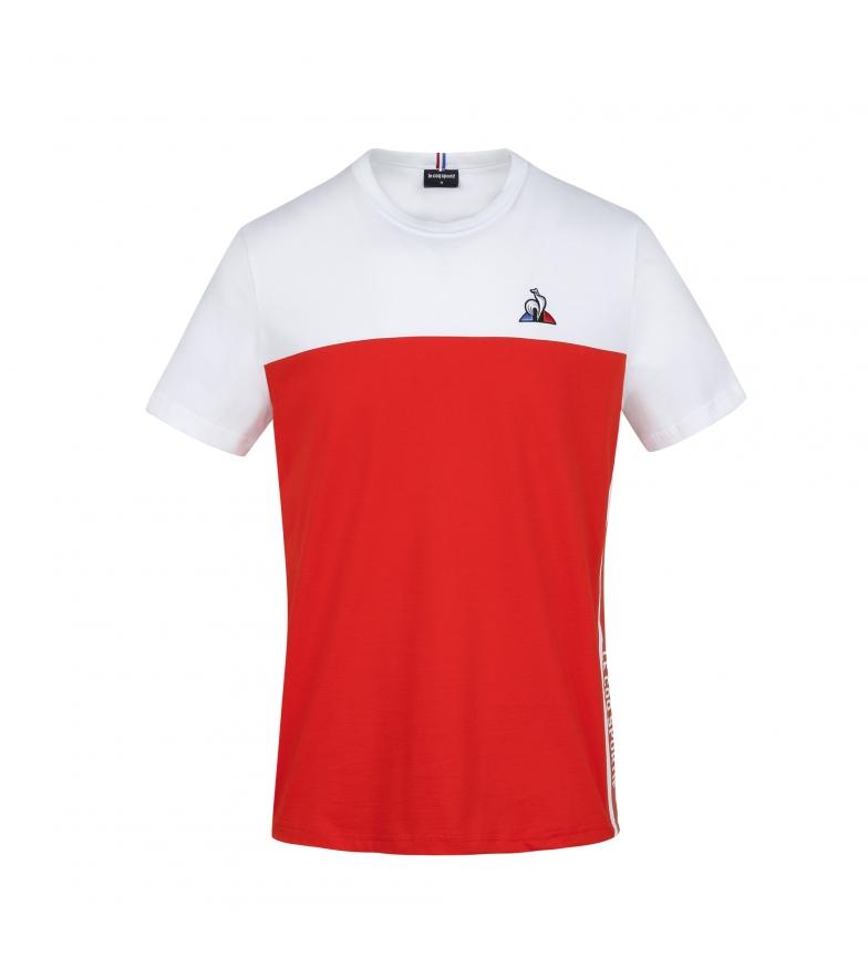 Le Coq Sportif Tricolore Saison T-shirt red, white