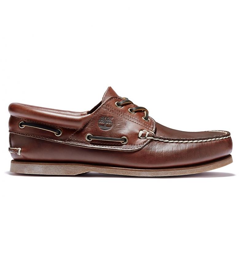 Comprar Timberland Chaussures bateau Classic Authentic en cuir brun