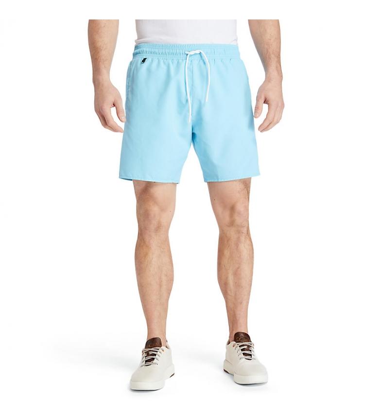 Comprar Timberland Sunapee Lake Plain Color Swimsuit blue