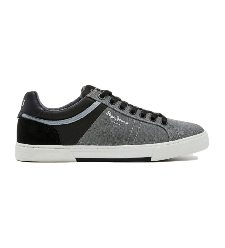 Pepe Jeans Sneakers Rodney Chambray cinza