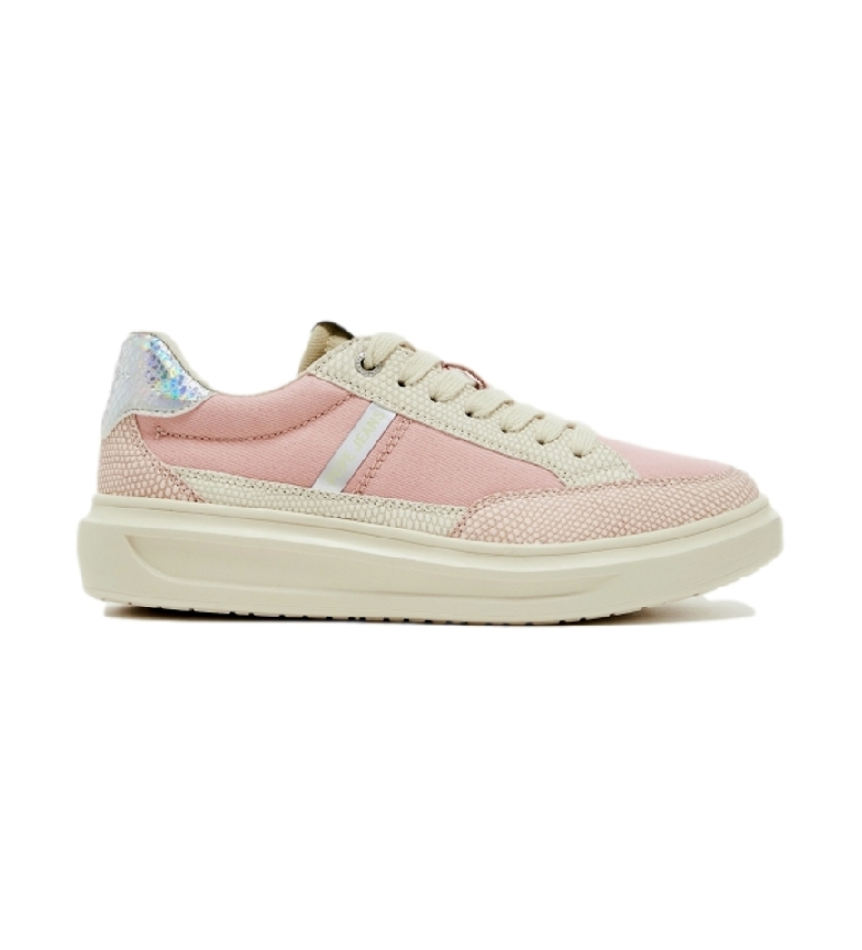 Pepe Jeans Chaussures Abbey Shade Face rose