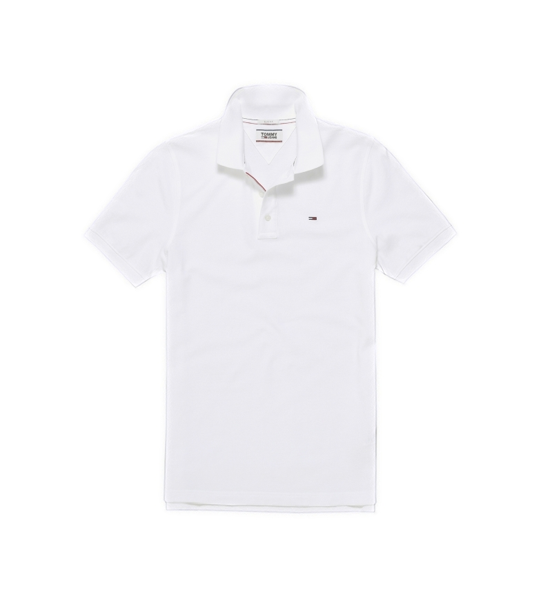 Tommy Hilfiger Polo TJM Slim Original Fine Piqué bianco