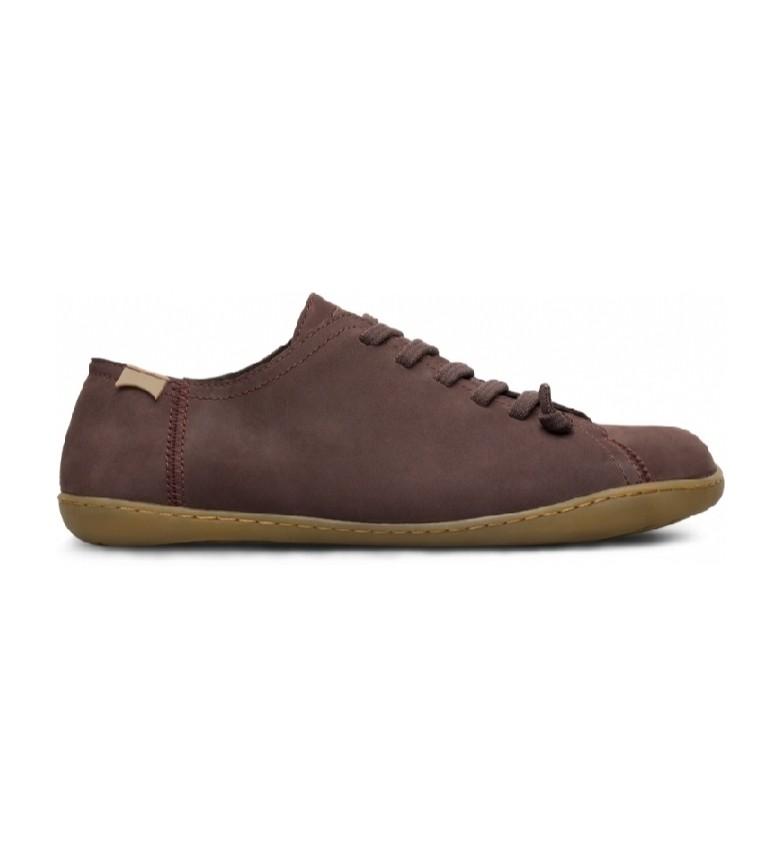 Comprar CAMPER Peu Cami brown leather sneakers