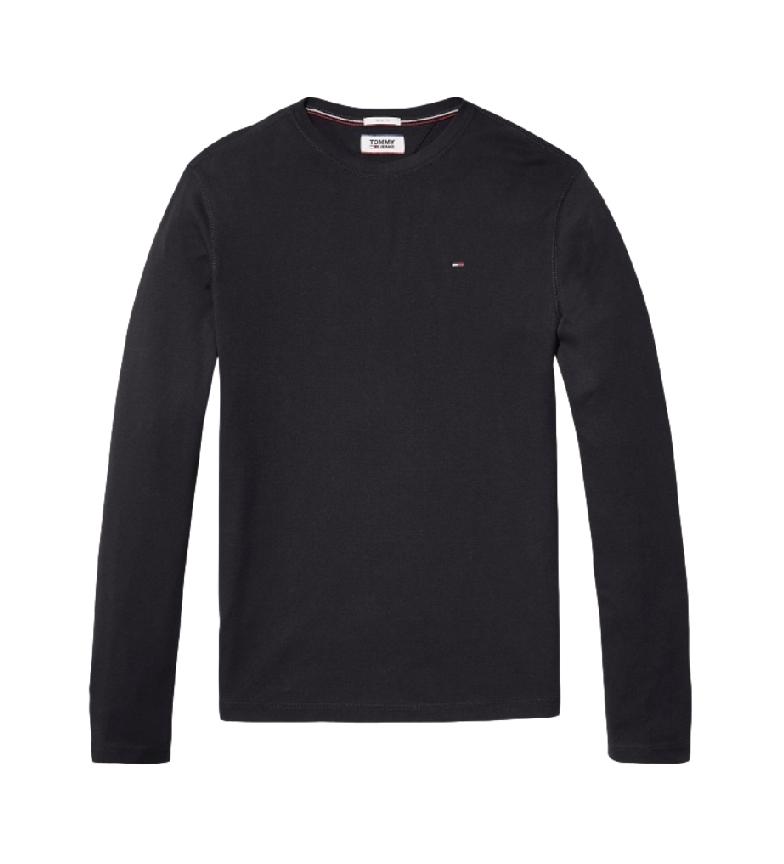 Tommy Hilfiger TJM Original T-shirt RIB Longsleeve Tee noir